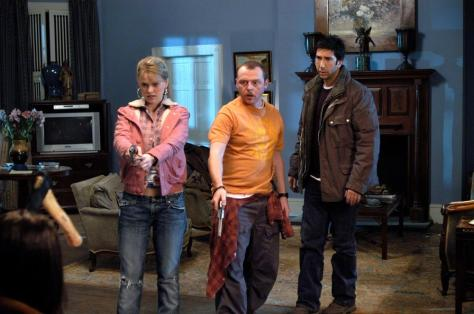 BIG NOTHING, Alice Eve, Simon Pegg, David Schwimmer,  2006. ©Pathe Films