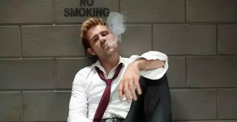 Constantine-smoking