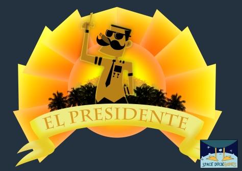 El Presidente_SpaceDuck_Logo