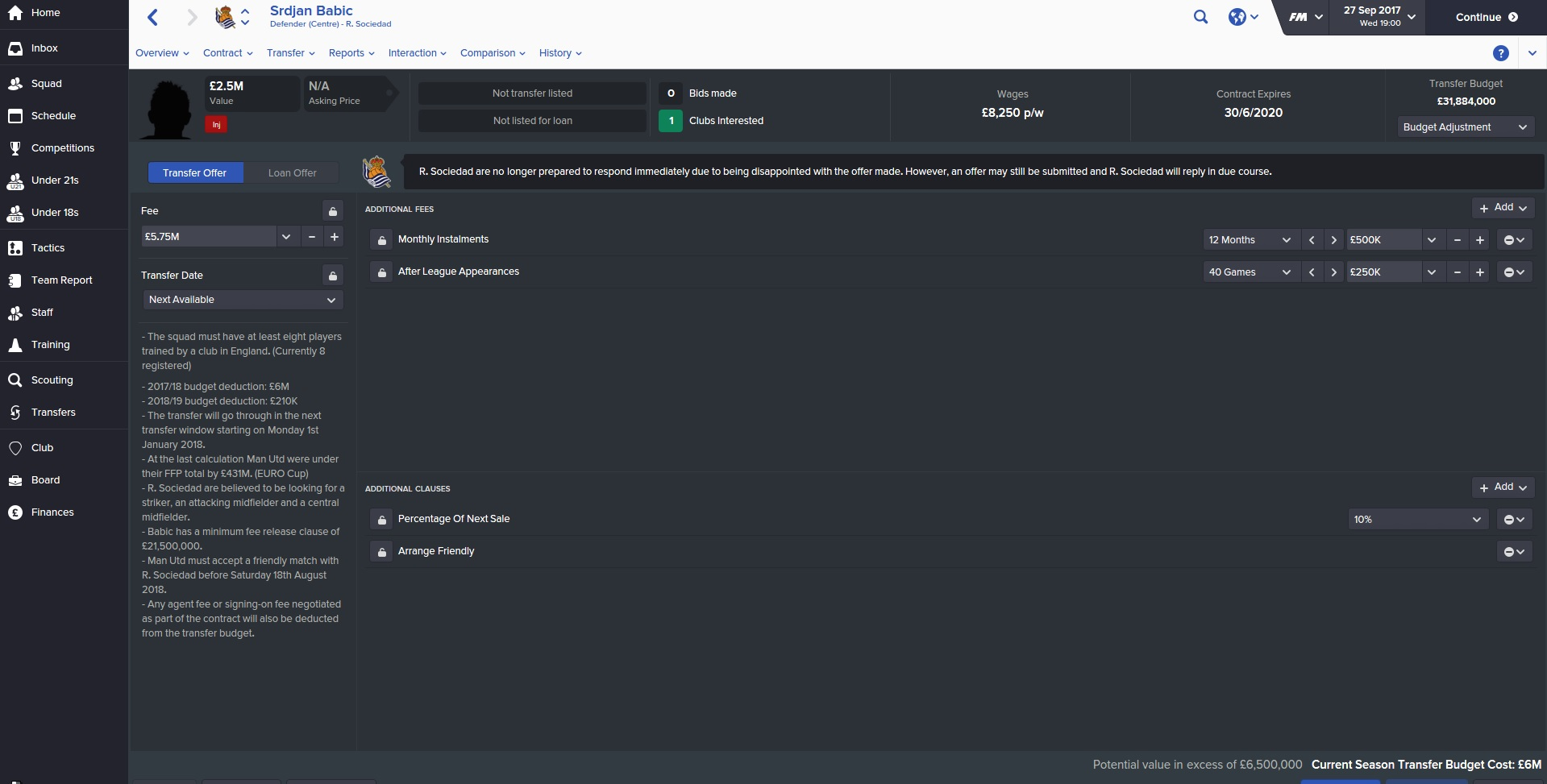 football manager review nerd lowdown football manager 2016 has also seen a good overhaul of the transfer system much like real life the transfer market is still a cruel and unforgiving place